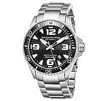 Stuhrling Original Wrist Watch, Stainless Steel, 842.02, Analog Display, For Unisex