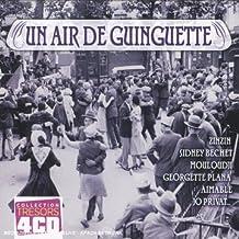 Coffret 4 CD : Un air de Guinguettes