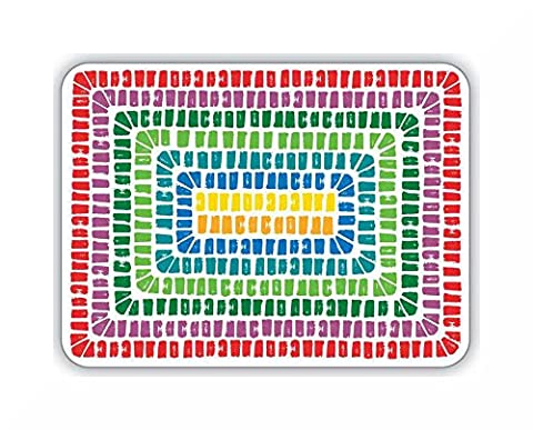 Table Placemats 4 Pack by Cooksmart & Inspirational Magnet (Seville)