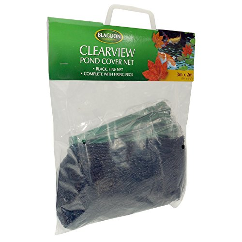Interpet Limited Blagdon Clearview feinmaschiges Teichnetz (3 m x 2 m) (Schwarz)