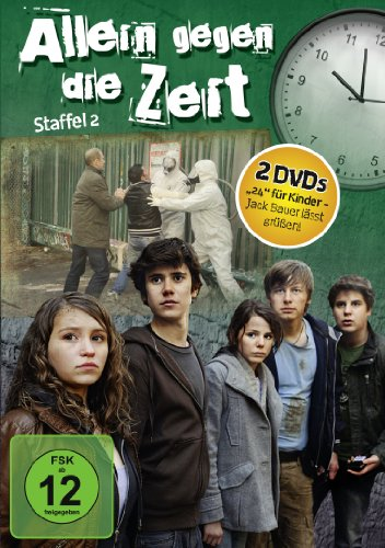 Allein gegen die Zeit - Staffel 2 [2 DVDs] - Ds-mega-ruby