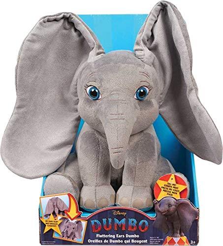 Disney Dumbo Flopping Ears Plush - Drücken Sie den Fuß von Dumbo, damit Seine Ohren zu den Elefantenklängen hoch und runter klappen! ()