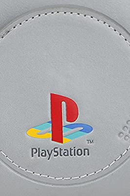Playstation Portefeuille gris