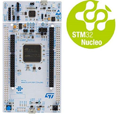 STM32 by ST, scheda di sviluppo NUCLEO-L496ZG STM32 Nucleo-144 con  STM32L496ZG MCU, supporta Arduino, ST Zio e connettività Morpho