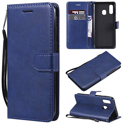 TRBOL Galaxy A40 Hülle, Premium Tasche Cover Flip Case [Magnetic Closure] [Standfunktion] Schutzhülle Handyhüllen für Samsung Galaxy A40 Smartphone (3)