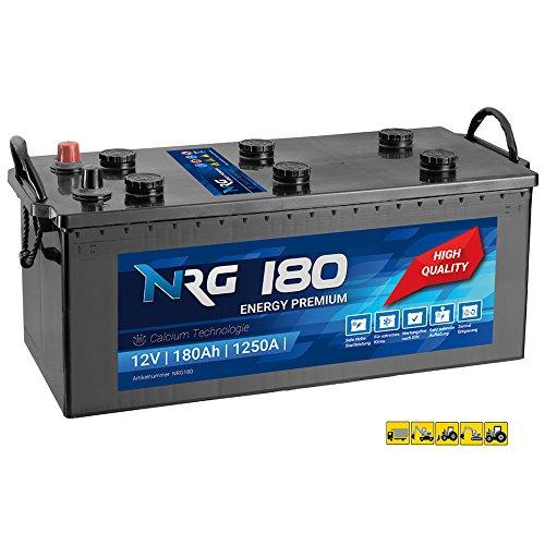 Preisvergleich Produktbild NRG Premium LKW Batterie 180Ah - 1250A / EN Starterbatterie