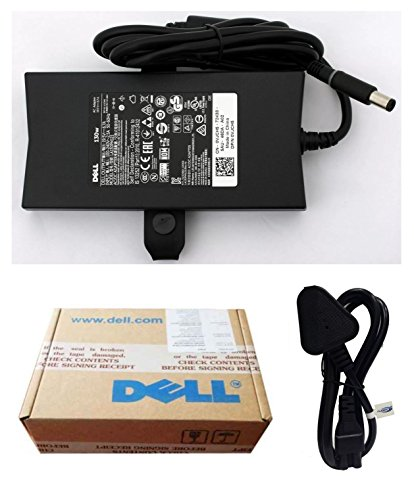 Dell Fugen Power Cable & Laptop Power Adapter Charger VJCH5 130w 19.5V, 6.7A