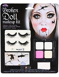 Adultos muñeca rota Kit de maquillaje Face Painting Set para disfraz de Halloween
