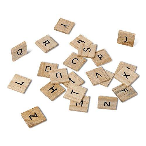 n Set von 60Scrabble Buchstaben Alphabet Hochzeit (Hochzeit Tablescapes)