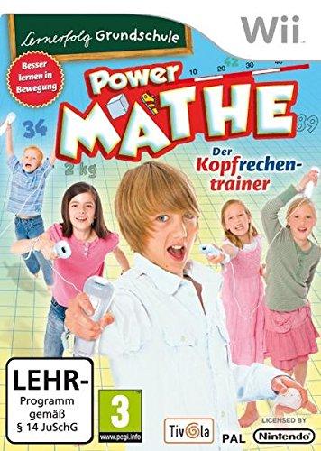 Lernerfolg Grundschule - Power Mathe: Der Kopfrechentrainer - [Nintendo Wii]