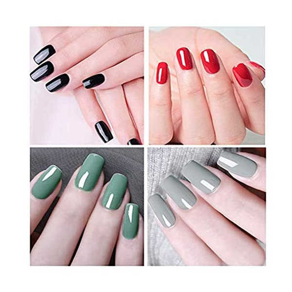 ROSALIND Gel Esmalte de uñas 24 colores Set Semi permanente Barniz Remojo Nail Art Design Kit 7ml