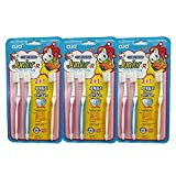 Best unknown Toothbrush Holders - Junior-R 2 + 1 Kids Toothbrush For Children Review