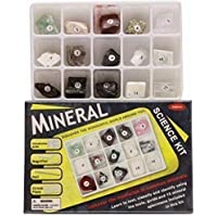 MINERAL Science Kit-15 muestras para identificar y test