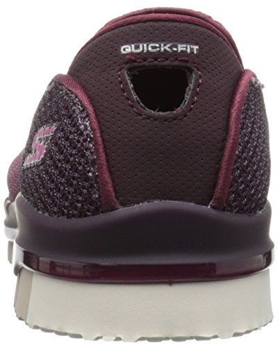 ... Skechers Damen Slipper Go Flex Lotus Bordeaux Burgundy (BURG) ...