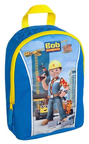 Undercover BODB7293 Kindergartentasche, Bob der Baumeister, ca. 21 x 22 x 8 cm Kindergartenrucksack