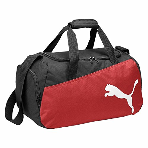 PUMA Sporttasche Pro Training Small Bag Black red-White, 44.5 x 24.5 x 3 cm Shaker-träger