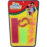 Ratna's Fun Straw Creative Straw Making Kit For Kids To Make Their Own Straw Design And Can Drink Through It