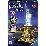 """Ravensburger 12596 - 3D Puzzle """"Freiheitsstatue bei Nacht"""""""