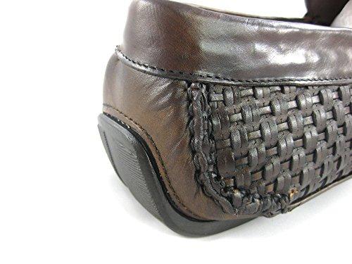 Franco Cuadra Calf Leather Loafers for Men Firenze Almendra