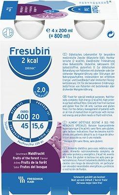 Fresubin 2 kcal DRINK, 24X200 ml , Waldfrucht