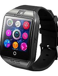 reloj inteligente q18 plug-in de teléfono móvil NFC en general casete Sistema IOS android , silver