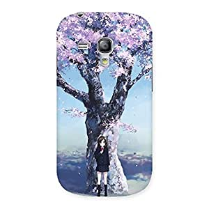 Special Premier Cherry Blossom Multicolor Back Case Cover for Galaxy S3 Mini