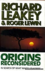 Origins Reconsidered: In Search of What Makes Us Human by Richard E. Leakey (1992-09-01)