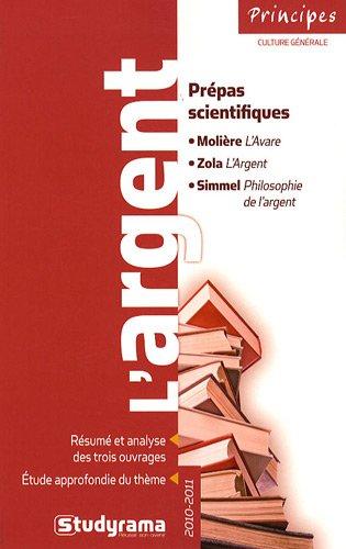 Thème de Français pour les Prepas Scientifiques 2010-2011