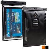"Funda resistente al agua tipo sobre Voda de Cooper Cases(TM) para tablet de Lenovo ThinkPad / 8 / 10 / Tablet 2 10.1"" en Negro (diseño ligero, ventana táctil, hermética, asa para hombro ajustable)"