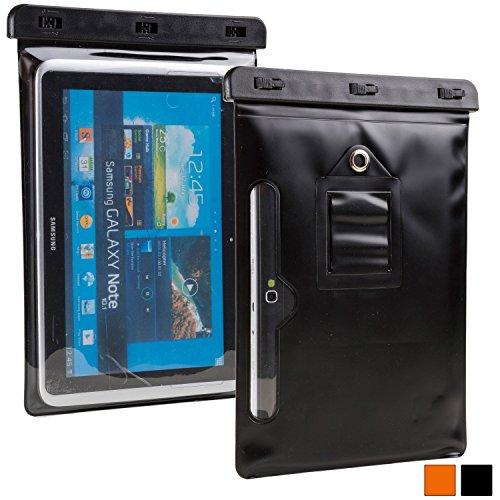 Custodia Impermeabile per Tablet da 9 a 10,1 Pollici, Cooper VODA Cover Protettiva Resistente all'Acqua per Uso all'Aperto con Schermo Sensibile al Tatto (Nero)