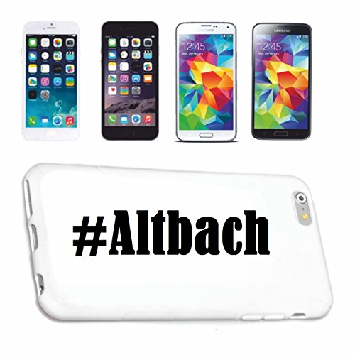 Handyhülle iPhone 7+ Plus Hashtag ... #Altbach ... im Social Network Design Hardcase Schutzhülle Handycover Smart Cover für Apple iPhone … in Weiß … Schlank und schön, das ist unser HardCase. Das Case wird mit einem Klick auf deinem Smartphone befestigt