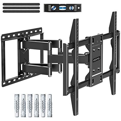 Eono by Amazon - Soporte TV Pared Giratorio Inclinable para la Muchos 42-70 Pulgadas 106cm-177cm LED...