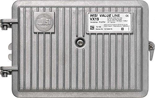 Wisi VX 19 C 0650 - TV-Signalverstärker (PG11, AC, 12,5 W, 27-65, 50/60, -20-55 °C)