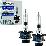 Evolution Laser Vision + Xenon Brenner D2R 4300K 35W (2 Stück)