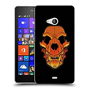 Snoogg Skull Of A Monster Designer Protective Back Case Cover For NOKIA LUMIA 540