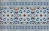 1m² spanische Keramikfliesen - Wandfliesen Spitzschutz Restposten