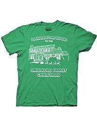 Christmas Vacation Dedicate This House Green Adult T-shirt tee
