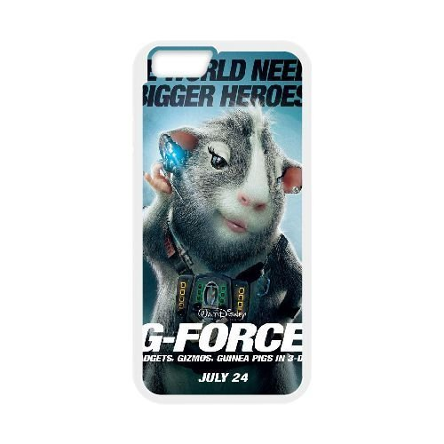 iphone6 4.7 inch White phone case Disney Cartoon Comic Series G-Force QBC3068677