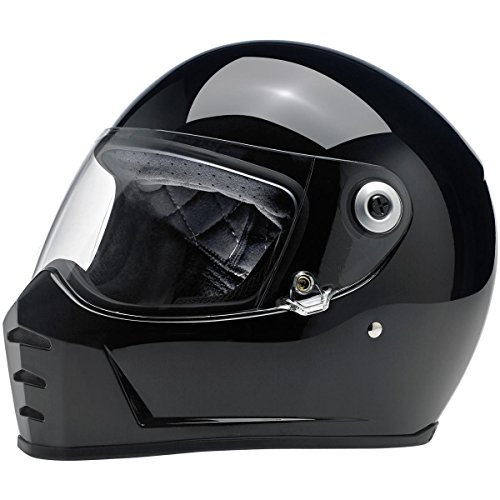 Casco Lane Splitter Helmet- ECE approved NERO LUCIDO
