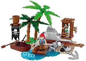 COBI- Pirates-Mermaid Rescue (140 Pcs) Juguete, Multicolor (6023)