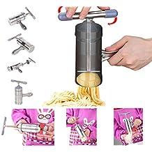 Acero Inoxidable Máquina para hacer pasta con 5 Plantilla