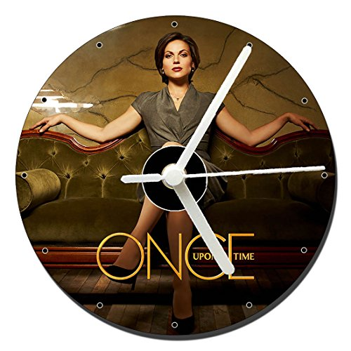 Erase Una Vez Once Upon A Time Lana Parrilla Tischuhren CD Clock 12cm (Uhr Once Upon A Time)
