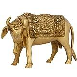 Tierische Verzierungen Für Die Startseite Kuh Dekor Messing Hindu Religiöse Ikonographie