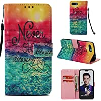 Everainy Huawei Honor 10 Hülle Silikon PU Leder Flip Wallet Case Gummi Schutzhülle Kartenfach Magnet für Huawei... preisvergleich bei billige-tabletten.eu