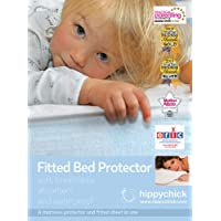 Hippychick Mattress Protector Fitted Sheet, 90 x 190 cm - Single
