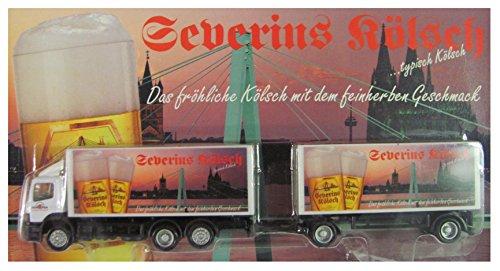 Preisvergleich Produktbild Severins Kölsch Nr.01 - Das fröhliche Kölsch mit dem feinherben Geschmack - MB Atego - Hängerzug