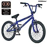 KHE BMX Cosmic 20 Zoll Fahrrad mit Affix Rotor BLAU nur 11,1kg (Blau) ...