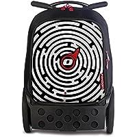 Nikidom - Trolley escolar, Multicolor (Labyrinth)
