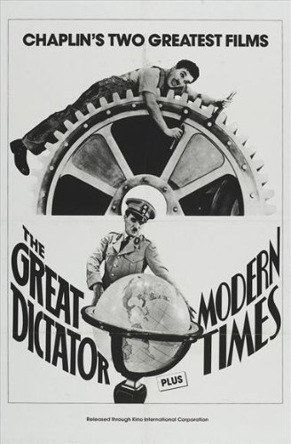 The Great Dictator Affiche du film Poster Movie Le dictateur grand (11 x 17 In - 28cm x 44cm) Style C