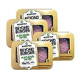 Beyond Meat Burger   Hamburguesa 100% Vegetal   Plant Based   Sin Gluten   Sin Soja   Vegano   2 porciones (227g) (Pack de 4)